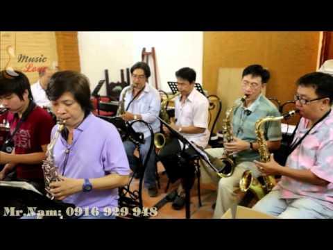 Band Nhạc Jazz - Buổi tập của các nghệ sĩ