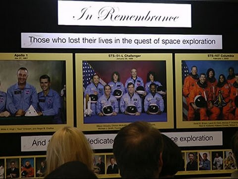 NASA Holds Memorial to Remember Astronauts