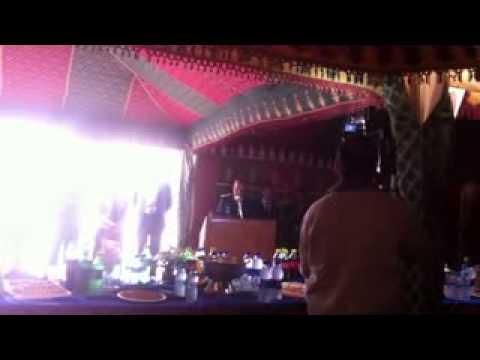 كلمة رئيس مفوضية الشرطة بأولاد تايمة بمناسبة الذكرى تأسيس الأمن الوطني