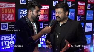 Mohanlal Talking About SIIMA Red Carpet