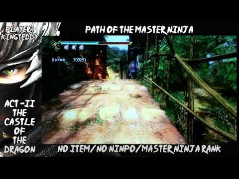 Ninja Gaiden Sigma 2 : Master Ninja Run : Act 2