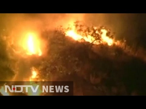 Forest Fires Engulf Large Area Near Mata Vaishno Devi Shrine