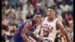 The Scottie Pippen vs Isiah Thomas Story   Why they hate each other