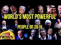 Top 20 Forbes List of World's Most Powerful People 2016..