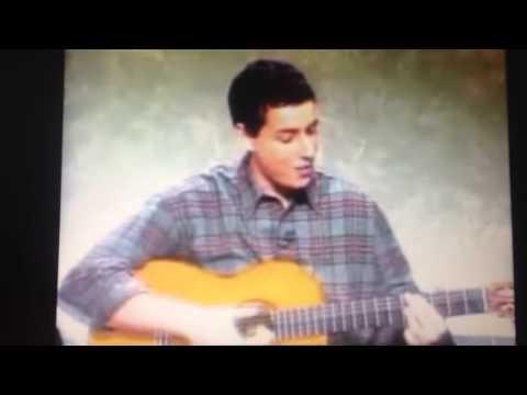 Adam Sandler sings the... Adam Sandler Youtube