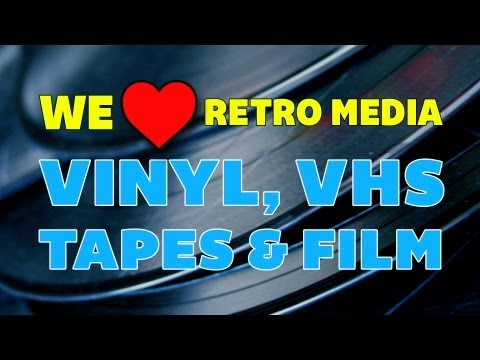 We ❤ Retro Media: Vinyl, VHS, Tapes & Film | Off Book | PBS Digital Studios