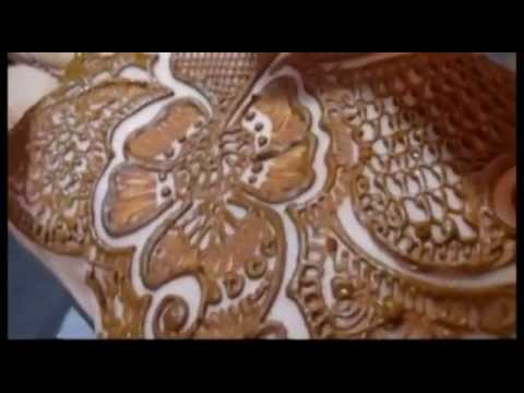 How To Apply Hathphool Bridal Mehndi-Wedding Festivals Mehendi Application 2013
