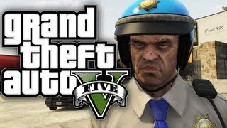 GTA 5 How To Be A COP! (Funny Moments In GTA V