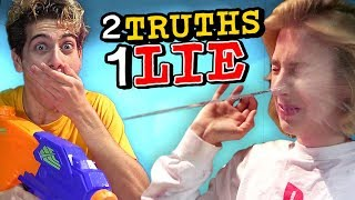 NOAH SOAKS COURTNEY | 2 TRUTHS, 1 LIE WATER CHALLENGE