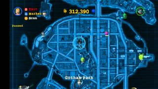 LEGO Batman 2: DC Super Heroes Red Brick Locations