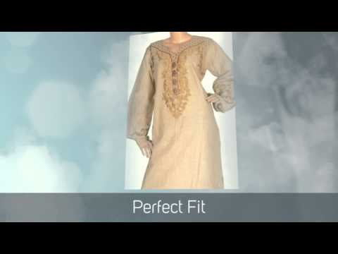 """Katan silk"" Jalabiya Dress & Islamic clothing for women"