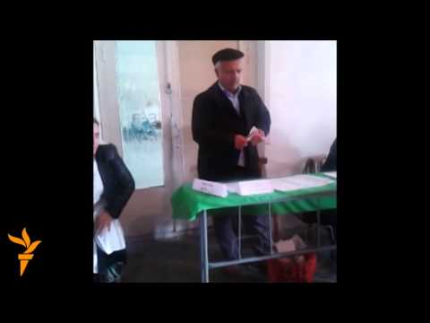 Voting Irregularities In Tajikistan