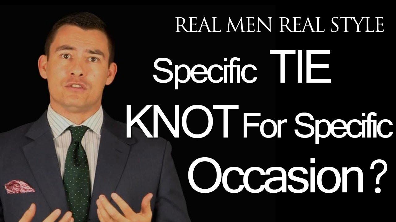 Youtube how to wear necktie