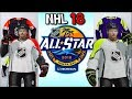 RECREATING THE 2018 NHL ALL STAR JERSEYS IN NHL 18