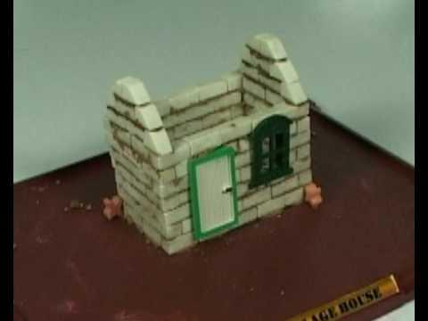 Murowany domek