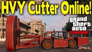 """GTA Online """"HVY CUTTER"""" MODDED VEHICLE (How To Get) [GTA"""