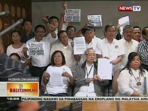 BT: Bagong impeachment complaint, inihain laban kay Pangulong Aquino