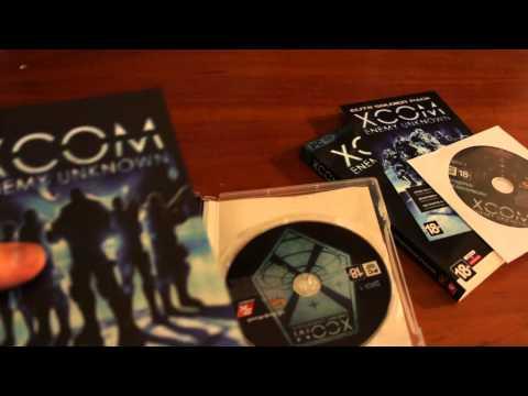 Распаковка  XCOM Enemy Unknown Специальное Издание от издателя 1С-Софтклаб.