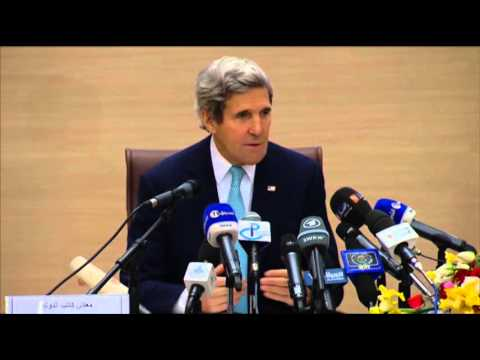 Kerry Urges Israel, Palestine to Lead