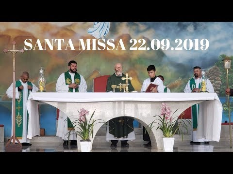 Santa Missa | 22.09.2019 | Padre José Sometti | ANSPAZ