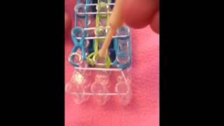 Rainbow Loom Sailor's Pinstripe Bracelet