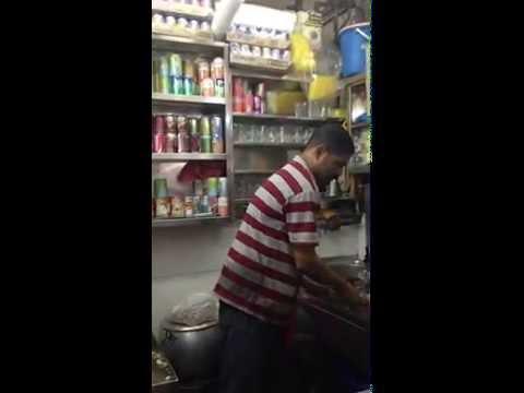 Making Chai in Little India, Singapore