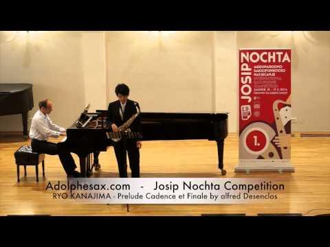 JOSIP NOCHTA COMPETITION RYO KANAJIMA Prelude Cadence et Finale by alfred Desenclos