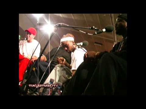 Westwood - Eminem & D12 freestyle FULL LENGTH VERSION - backstage in London 2001