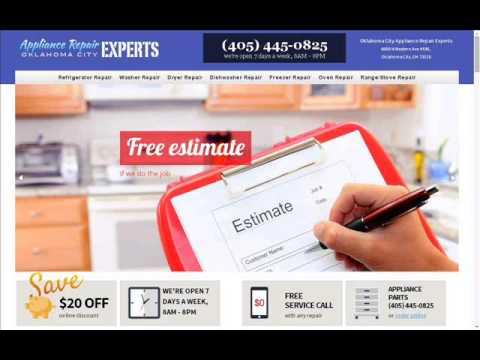 Oklahoma City Appliance Repair Experts, (405) 445-0825
