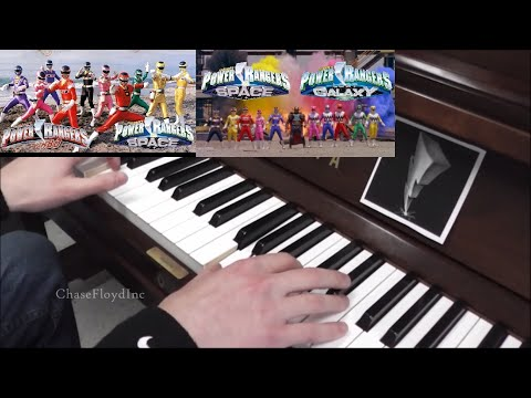 ϟ Power Rangers Turbo, In Space, & Lost Galaxy Theme Songs Piano Cover ϟ
