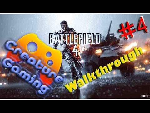 Battlefield 4 - Campaign Walkthrough Part 4 - Gameplay [PC] [Full HD]