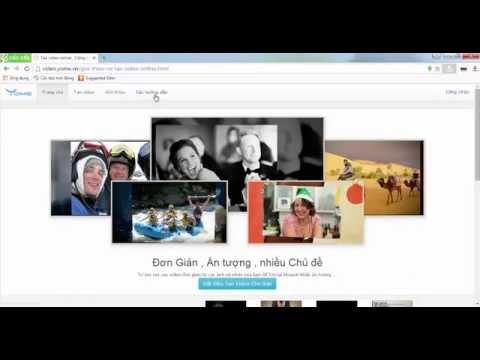 Hướng dẫn tạo video từ album ảnh online