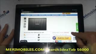 Lenovo IdeaTab S6000 MTK8125 Quad Core 1.2GHz 10.1 Inch