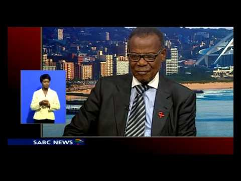 Chief Mangosuthu Buthelezi paid tribute to Madiba