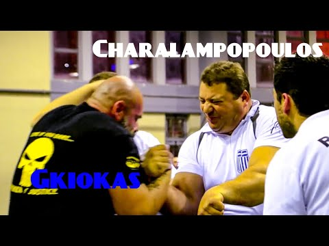 G. Charalampopoulos VS Giokas [FULL MATCH] 2014 GR National