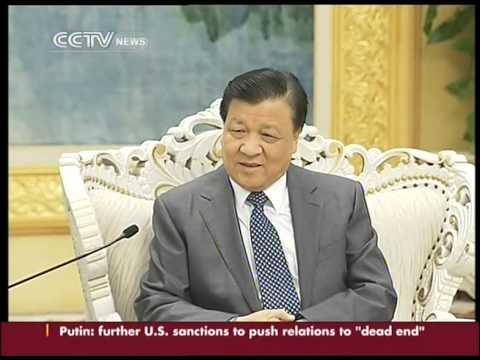 Japan opposition leader visits China