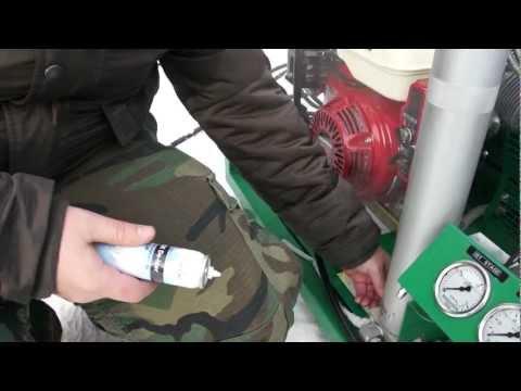 Компрессор высокого давления paramina - зима