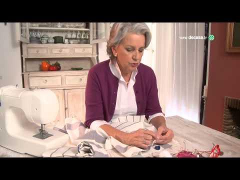 Cómo hacer un mantel con paños de cocina en Ideas decorativas, con Lilla Moreno
