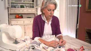 Aprende a hacer un mantel con paños de cocina
