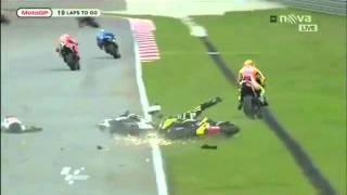 Muere Marco Simoncelli Grave Incidente Gran Premio Di