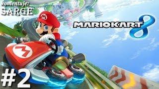 Testujemy grę Mario Kart 8 (gameplay #2) - Shell Cup (Zagrajmy w Mario Kart 8)