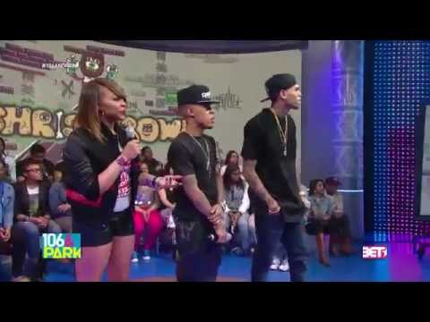 106 & Park Chris Brown -  Azonto