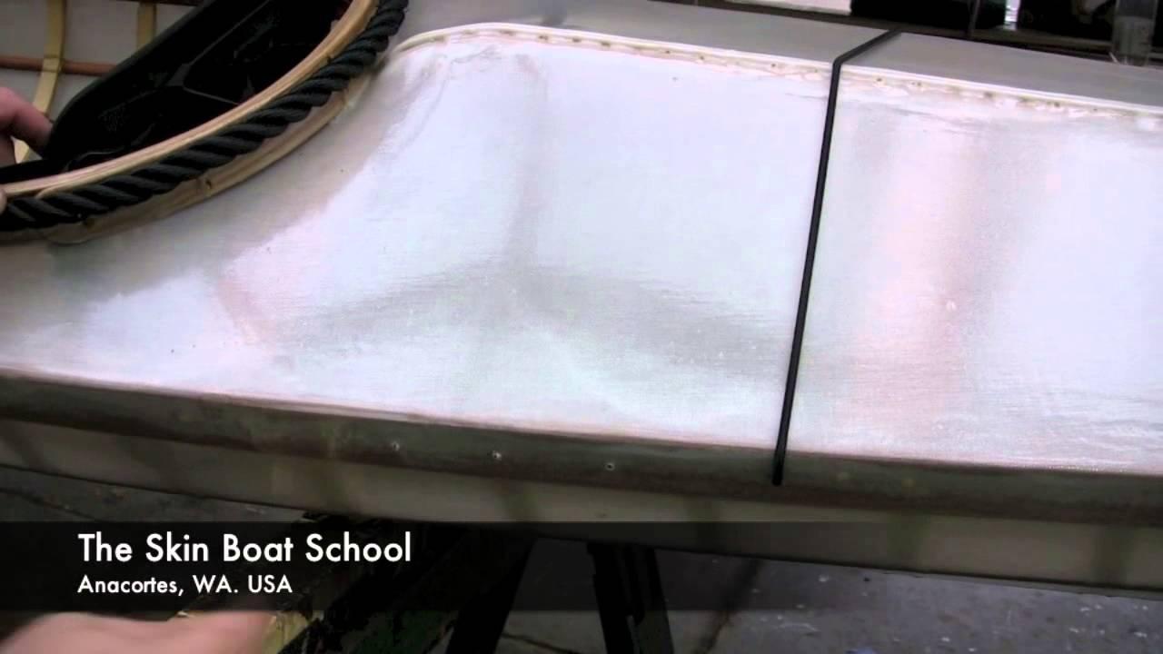 Deck Rigging your Skin on Frame Kayak (shock cord method) - YouTube