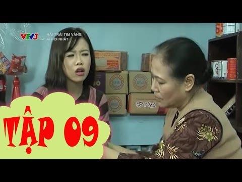 VTV Hai trái tim vàng  Tập 9  SẮC CÙN VẪN THUA  Ngày 16 9 2014