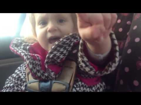 Little Girl Is Adamant About Buckling Her Own Cars