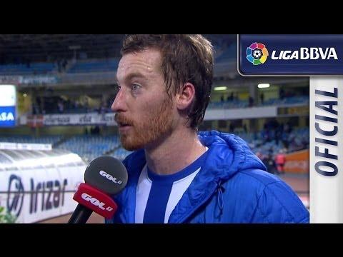 Entrevista a Zurutuza tras el Real Sociedad (3-1) FC Barcelona - HD
