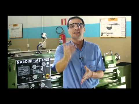 CURSO DE TORNEIRO MECÂNICO -  AULA  4  - TORNEARIA  (vídeo 2) -Prof.Maércio Nascimento