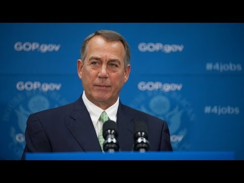 Boehner Discusses Debt Limit, Defunding ObamaCare
