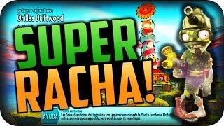 SUPER RACHA!! PLANTAS VS ZOMBIES ( GARDEN WARFARE