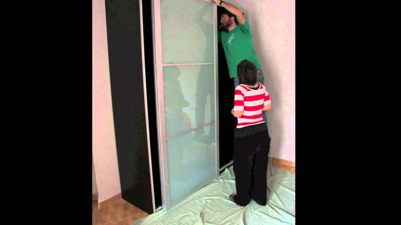 Ikea Pax R Ckwand montando un pax de ikea